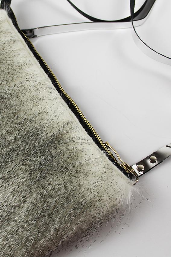 MINI FURRY FLOW női táska